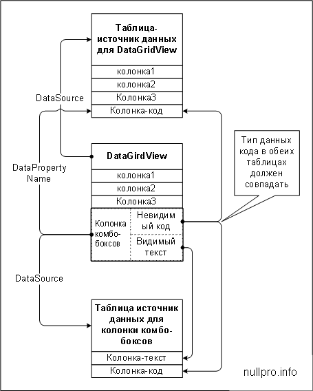 DataGridViewComboBoxColumn
